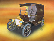 Ford Model T Car Prints - Ole No 1 Print by Chris Fraser