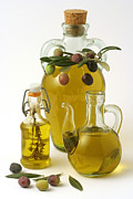 Cruet Framed Prints - Olive oil. Framed Print by Emilio Ereza