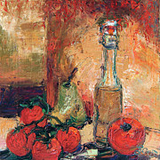 Ginette Fine Art LLC Ginette Callaway - Olive Oil Tomato and Pear Still Life