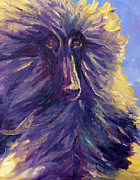 Dog Paintings - Olive by Terry  Chacon