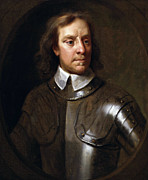 Old Ironsides Prints - Oliver Cromwell Print by War Is Hell Store