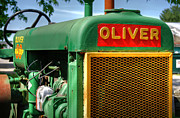 Oliver Tractor Framed Prints - Oliver Framed Print by Guy Harnett