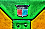 Oliver Tractor Framed Prints - Olivers Crest Framed Print by Ray Congrove