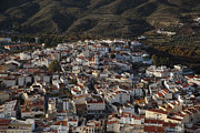 City Center Prints - Olula Del Rio, Almanzora Valley, Almeria Print by Steve Brockett