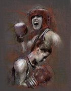 Boxing  Prints - Olympic Champ Print by James Robinson