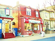 Art In Halifax Digital Art - Olympic Grocery Halifax Nova Scotia by  Halifax Artist John Malone