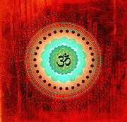 Meditation Prints - Om 3 Print by Tara Catalano