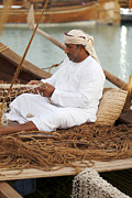 Paul Cowan - Omani net-making...