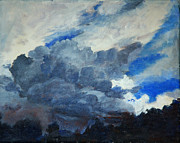 Storm Clouds Paintings - Ominous by David Carson Taylor