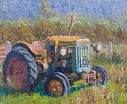 Terry Perham Art - On A Westland Farm  by Terry Perham