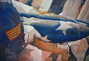 Corps Painting Originals - On behalf of a grateful nation by Doug Davies