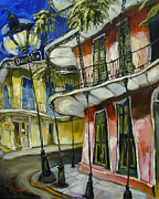 Gumbo Paintings - On Dauphine by Carole Foret