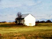 Appleton Digital Art Prints - On Hwy B Near Ogdensburg.  Print by David Blank