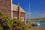Clapboard House Photos - On the Cape by Joann Vitali