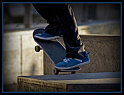 Skateboard Digital Art - On the Edge by Ernie Echols