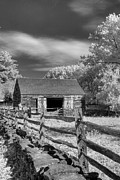 Old Barns Prints - On the farm Print by Joann Vitali