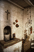 Church Photos - On the kitchen In Carmel Mission by RicardMN Photography