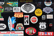 Stickers. Photos - On The Road Again 5D23596 by Wingsdomain Art and Photography