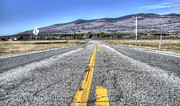 Mountains Digital Art - On The Road by Armand  Roux - Northern Point Photography