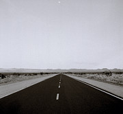 The Nature Center Prints - On The Road In Nevada Print by Shaun Higson