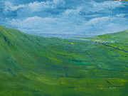 Irish Impressionist Painting Framed Prints - On the road to Dingle   Original SOLD Framed Print by Conor Murphy