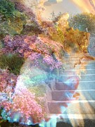 Stairway To Heaven Prints - On the Seventh Day Print by Shirley Sirois