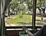 St Charles Avenue Photos - On the St Charles Avenue Line by Bradford Martin