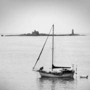 Lighthouse Art Prints - On the Water Print by Mike McGlothlen