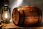 Wine Barrel Photos - On the Waterfront by Olivier Le Queinec