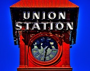 Union Station Photos - On Time by Benjamin Yeager