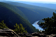 Poconos Art - On Top of Mt Tammany by James Chesnick