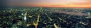 On Top Of The City Print by Jon Neidert