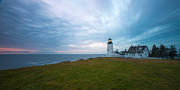 Pemaquid Lighthouse Framed Prints - On top of the hill Framed Print by Paul Treseler