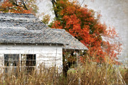Abandoned House Prints - Once I Laughed Print by Betty LaRue
