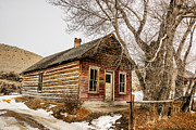 Bannack State Park Photos - Once Red by Sue Smith