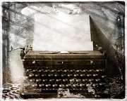Typewriter Photos - Once by Sonja Quintero