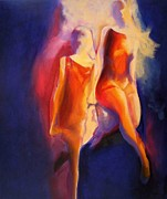 Gazelle Paintings - ......one A Gazelle by Georg Douglas