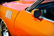 Factory Photos - One Baddd Fish - 71 Cuda 383 by Thomas Schoeller