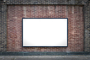 Billboard Photos - One Blank Board by Antony McAulay