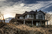Abandoned North Carolina Home Metal Prints - One day I will return ... Metal Print by Aaron Morgan