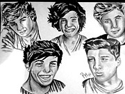 Pauline Murphy Prints - One Direction Print by Pauline Murphy
