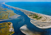Topsail Island Posters - One Fine Island Poster by Betsy A Cutler East Coast Barrier Islands