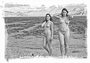 Dry Lake Digital Art - One Fine Pair by Ken Evans