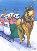Seasonal Art - One for the team by Catherine G McElroy