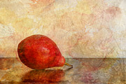 Pear Art Prints - One II Print by Heidi Smith