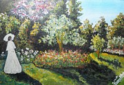 Nandika  Dutt - One Lady in the garden