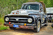 Ford Pickup Framed Prints - One Last Load Framed Print by Ken Smith