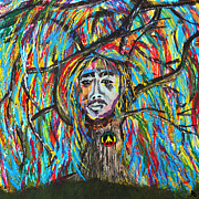 Bob Marley Abstract Prints - One Love Print by LiL Bean Art