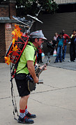 Local Food Photo Prints - One Man Band Print by Skip Willits