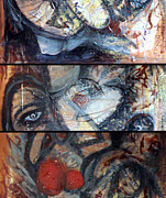 Poor People Mixed Media Prints - One Month In Thailand Acryl Print by Josef Putsche